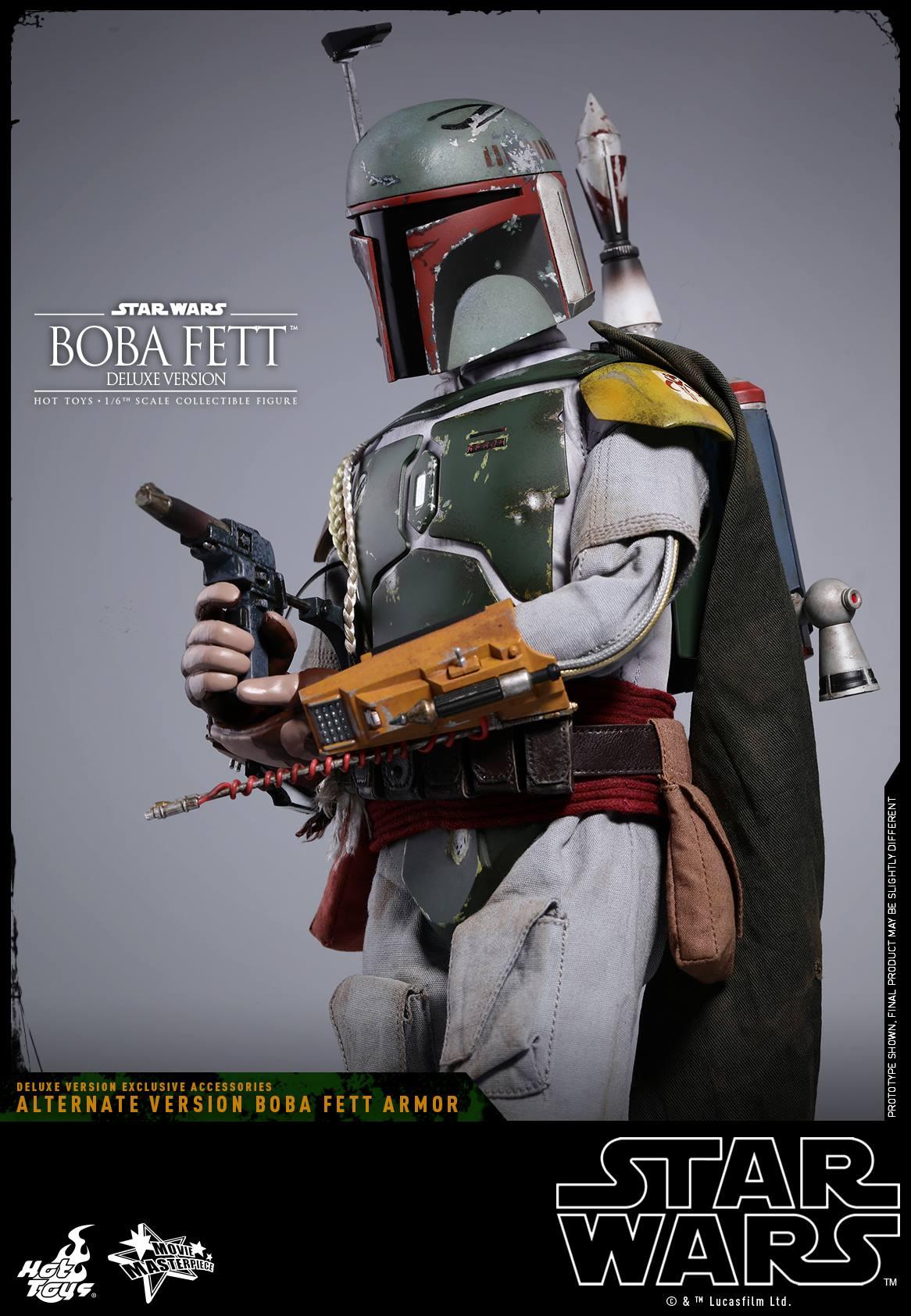 Hot Toys Boba Fett From Star Wars The Empire Strikes Back