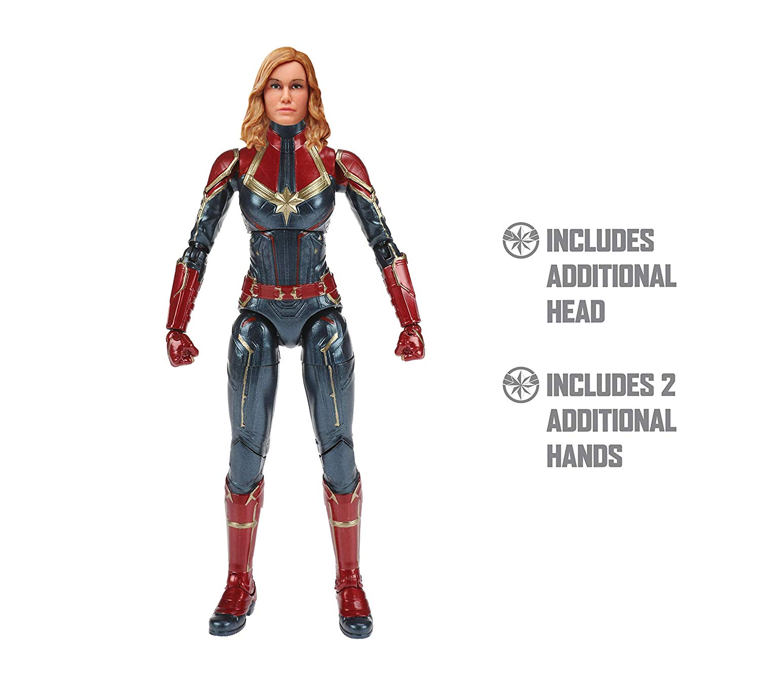 better look at the marvel legends - captain marvel 6-inch figures