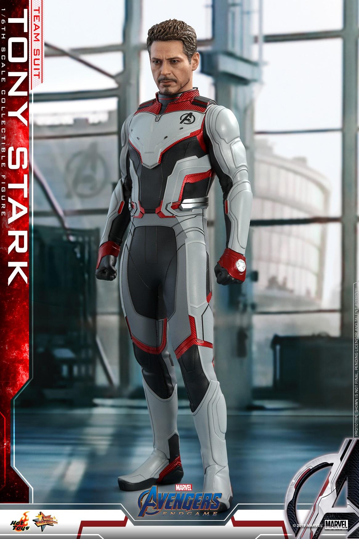 Hot Toys Team Suit Tony Stark From Avengers Endgame