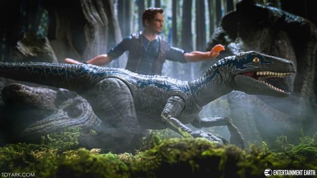Jurassic Park Amber Owen Blue 39