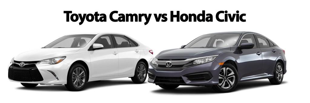 Toyota Camry vs Honda Civic