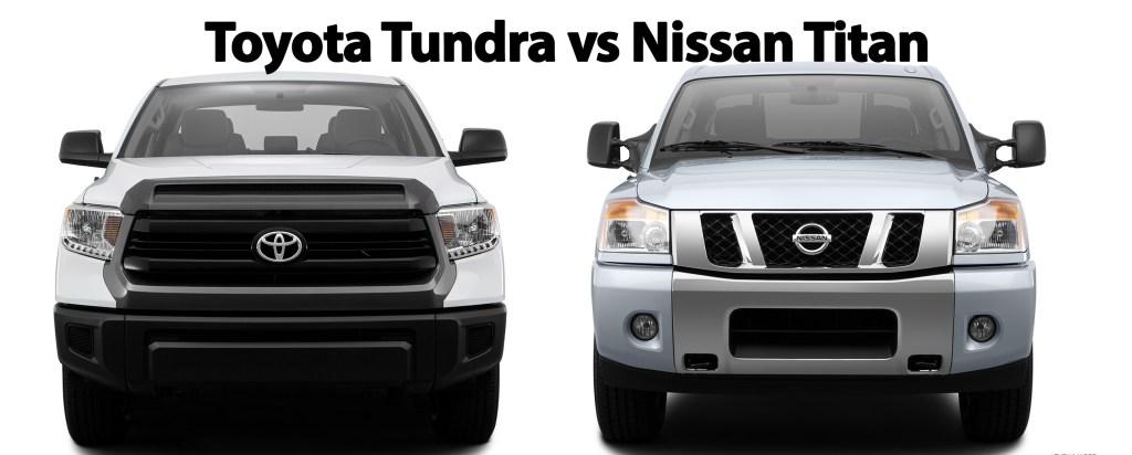 Toyota Tundra vs Nissan Titan