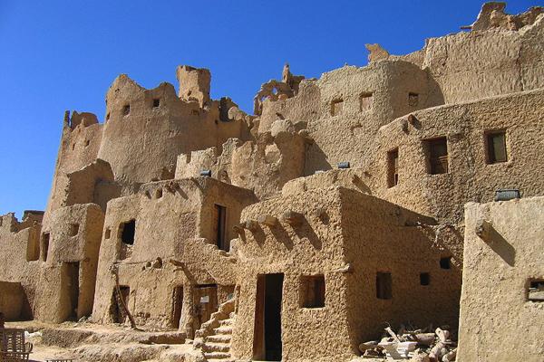 بيوت مدينة شالي القديمة، واحة سيوة