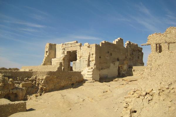 معبد آمون، واحة سيوة، مصر