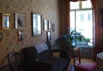 غرفة المعيشة في شقة ألبرت أينشتاين في برن