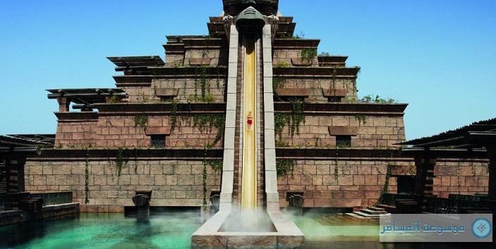 مدينة الألعاب المائية في منتجع أتلانتس النخلة