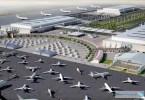 مطار آل مكتوم في قلب دبي ورلد سنترال
