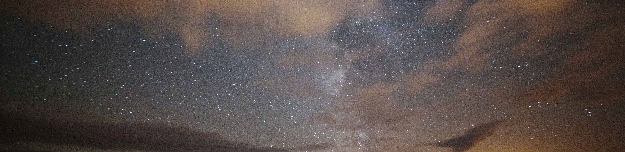 The night sky Isle of Man