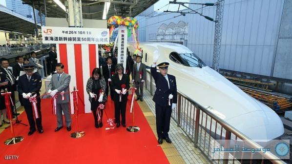 أسرع قطار في العالم باليابان