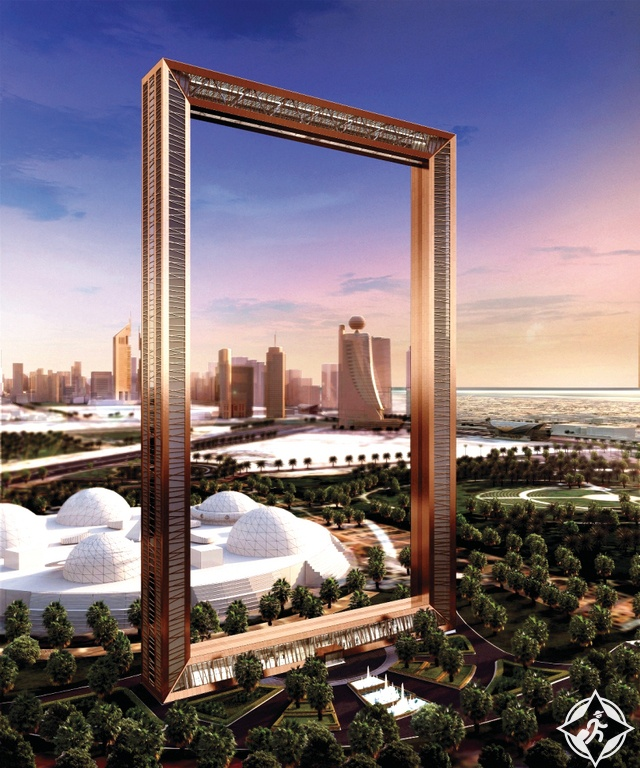 برواز دبي dubai frame