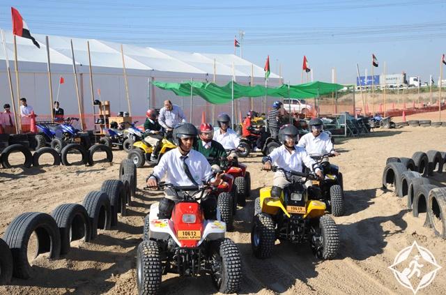 الدراجات النارية في دبي