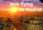 الاتحاد للطيران إلى مدريد