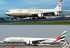 الاتحاد والإمارات للطيران
