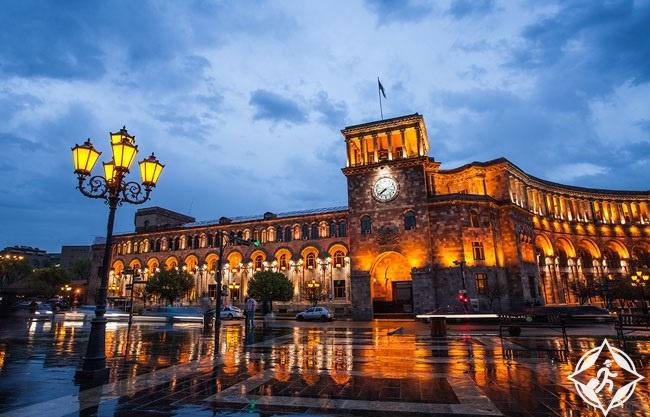 ساحة الجمهورية في يريفان