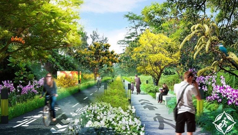 سنغافورة تبنى أطول حديقة فى العالم