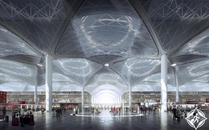 مطار اسطنبول الجديد1