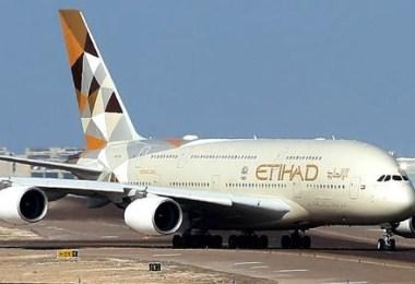الاتحاد للطيران A380