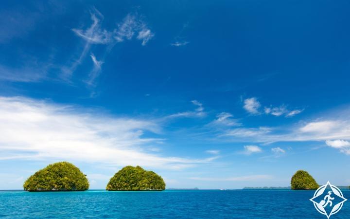 جزر الصخر جنوب البحيرة