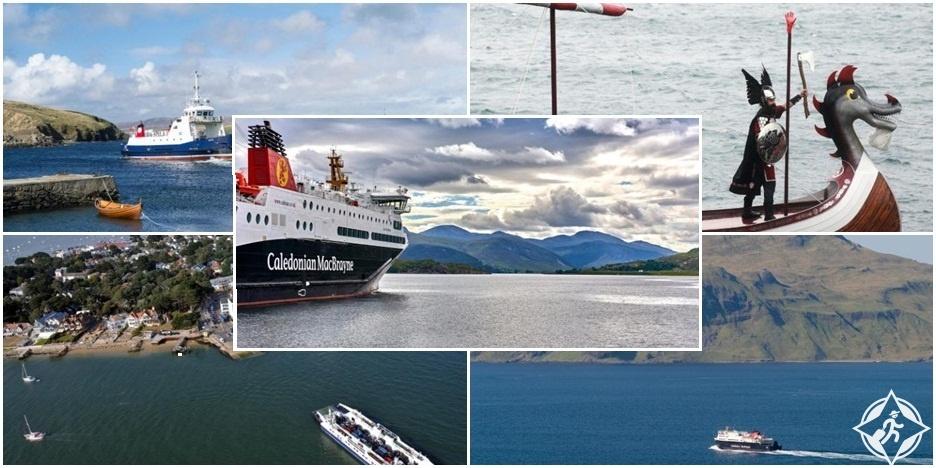 رحلات العبارات الأكثر جمالا في الجزر البريطانية
