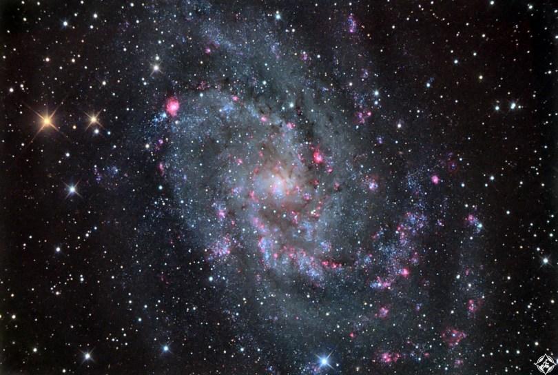 أمريكا-أريزونا-مجرة المثلث-أجمل صور الفضاء