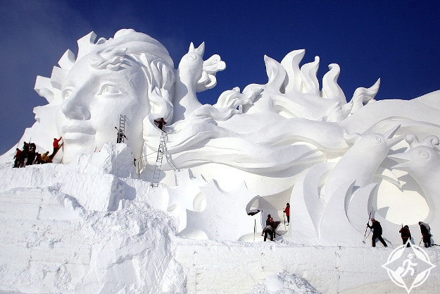 الصين-هاربين-مهرجان الجليد هاربين