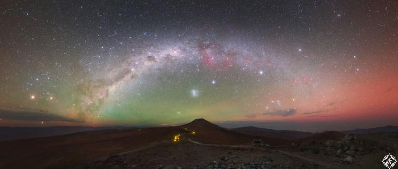 تشيلي-صحراء أتاكاما-درب التبانة-أجمل صور الفضاء