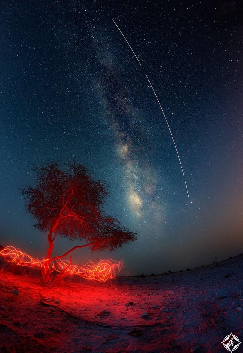 قطر-الدوحة-مجرة درب التبانة-أجمل صور الفضاء