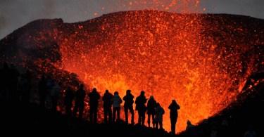 أيسلندا-بلدة هفولسفولور-مركز الحمم البركانية-معالم سياحية جديدة