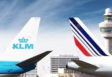 الخطوط الفرنسية والهولندية