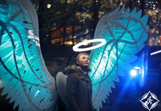 بريطانيا-لندن-كناري وارف-مهرجان أضواء الشتاء كناري وارف 5
