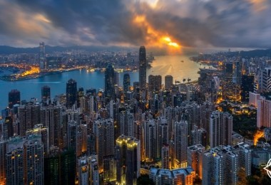 هونج كونج-جزيرة هونج كونج-ميناء فيكتوريا-هونج كونج