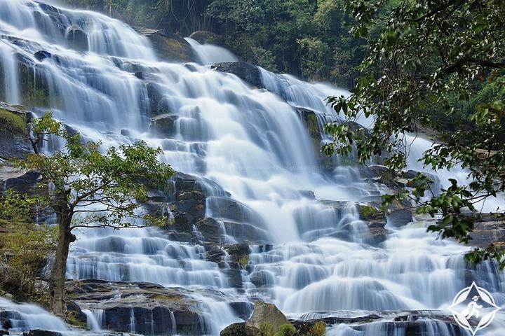 تايلاند-شنغماي-شلالات ماي يا-شلالات شنغماي