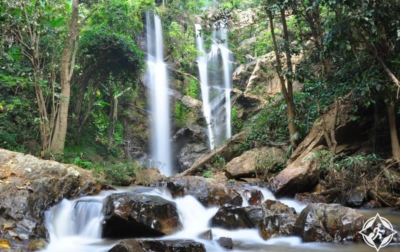 تايلاند-شنغماي-شلال موك فا-شلالات شنغماي