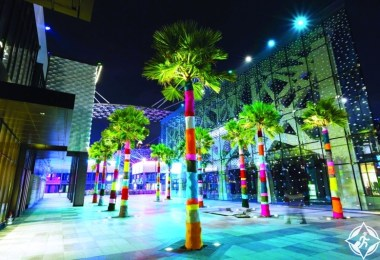سيتي ووك تستضيف النسخة الثالثة من مهرجان دبي كانفس