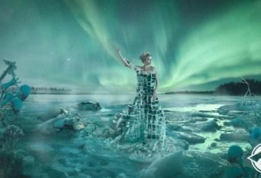 ثوب من الجليد
