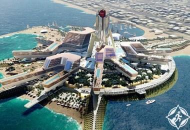 دبي تطلق مشروع جزيرة متكاملة للخدمات السياحية والترفيهية على شاطىء جميرا