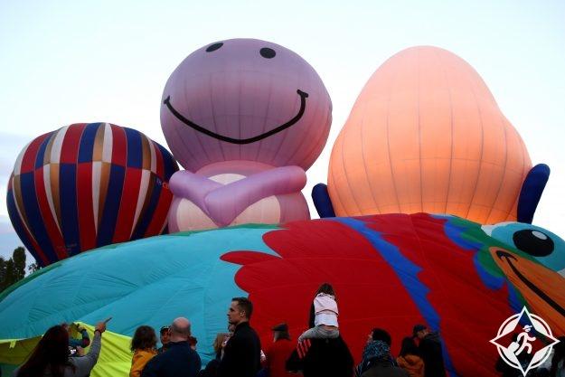 مهرجان بالونات الهواء الساخن في كانبيرا