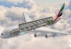 طيران الإمارات تعلن عن طائرة جديدة من ثلاث طوابق وبها حديقة وحمام سباحة
