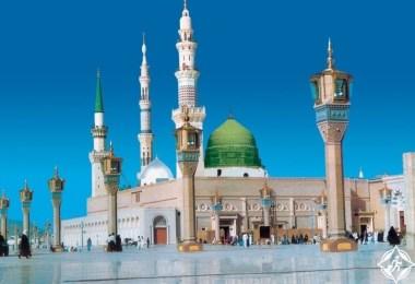 المسجد النبوي - معالم المدينة المنورة