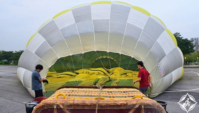 منطاد الهواء الساخن في بوتراجايا