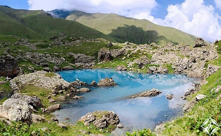 طبيعة جورجيا - بحيرات أبودلاوري