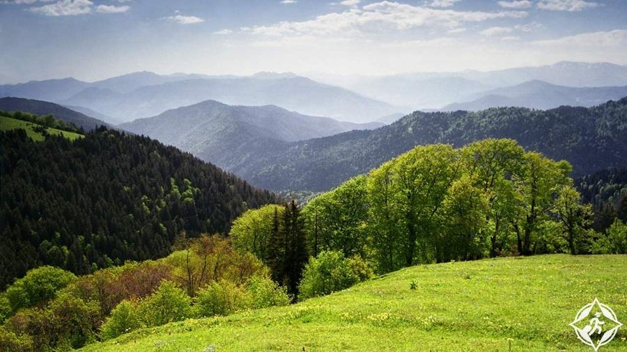 طبيعة جورجيا - حديقة بورجومي - خراغولي الوطنية
