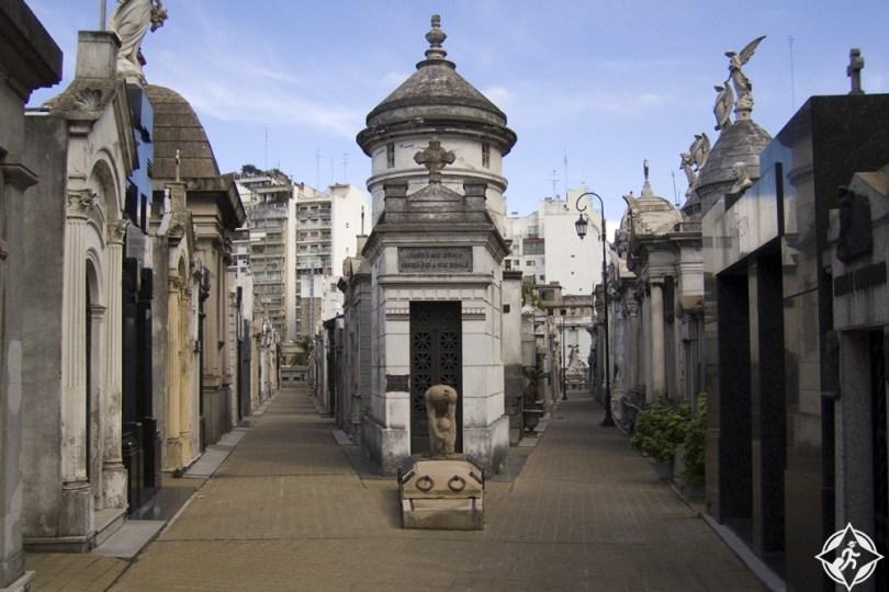المعالم السياحية في بوينس آيرس - مقبرة ريكوليتا