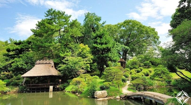 المعالم السياحية في هيروشيما- حديقة شوكي-إن