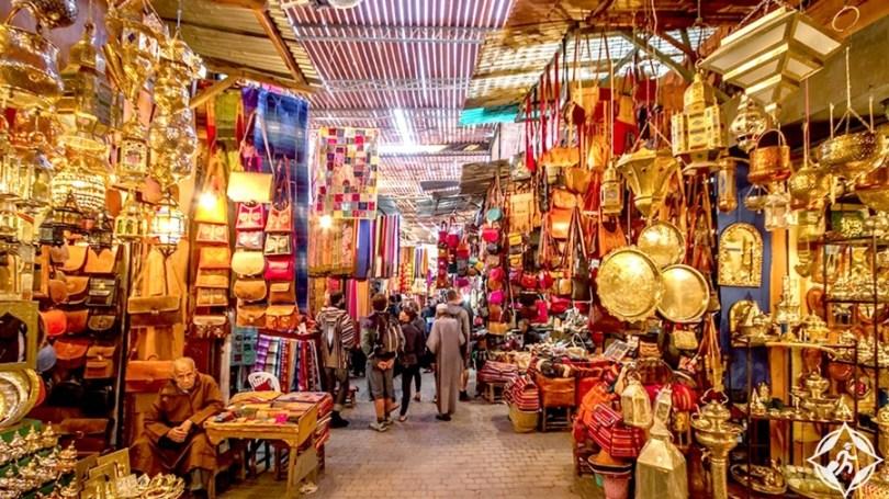 المعالم السياحية في الدار البيضاء - السوق المركزي