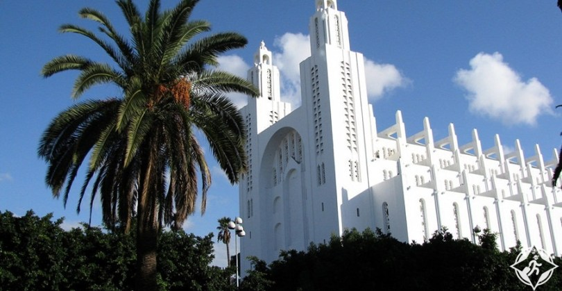 المعالم السياحية في الدار البيضاء - كاتدرائية القلب المقدس