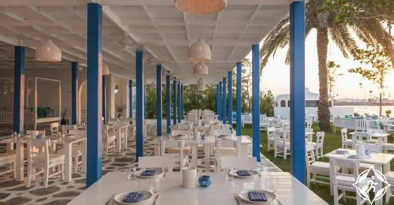 مطعم فيش الشاطئي-فندق لو ميريديان الميناء السياحي