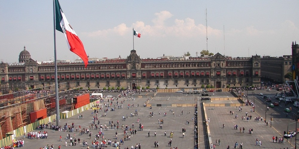 مكسيكو سيتي - ساحة زوكالو