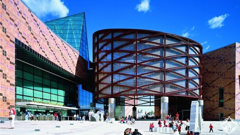 المعالم السياحية في لوس أنجلوس - مركز كاليفورنيا للعلوم