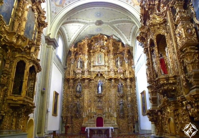 موريليا - كنيسة سانتا روزا دي ليما